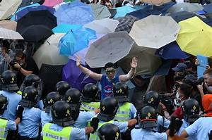 How umbrellas became the symbol of the Hong Kong protests ...