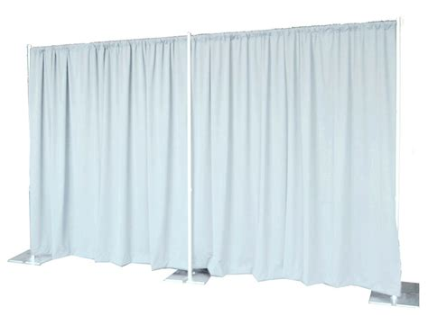 Where To Buy Pipe And Drape - backdrop kit 8 ft x 20 ft wide pipe and drape