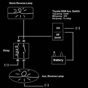 Wiring Diagram For Aux  Reverse Lamps Needs Critique