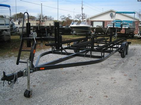 Pontoon Boat Without Trailer by Grove Marine Pontoon Trailers