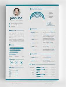 free modern resume templates psd 25 infographic resume templates free premium collection
