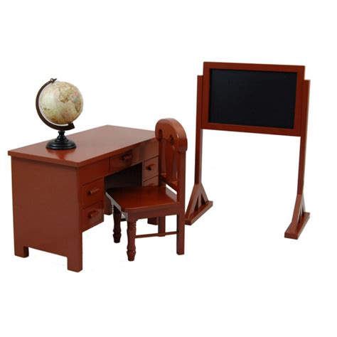 18 inch doll desk teacher desk and play set for 18 quot dolls fits