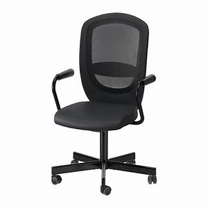 Chaise Noire Ikea : flintan nominell chaise pivotante accoudoirs noir ikea ~ Teatrodelosmanantiales.com Idées de Décoration