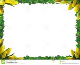 sunflower wedding programs border royalty free stock photo image 1806655