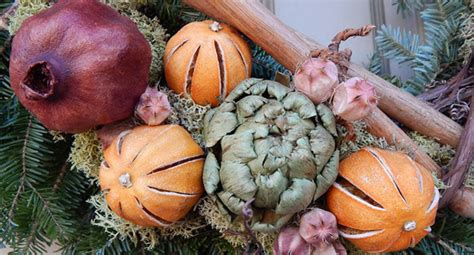 natural rustic christmas decorations