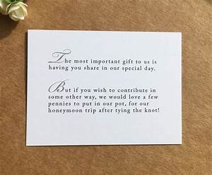 wedding poem card inserts wedding invitations money cash With cheap wedding invitations with inserts