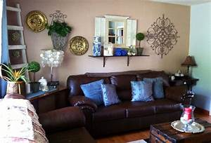 brown and blue room - Design Decoration