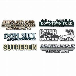 raised letter nameplates auto tech niles marketing llc With raised letter stickers