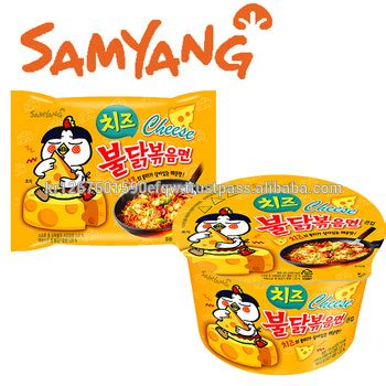mie cheese ramen samyang ramen korean ramen chicken flavor ramen cheese