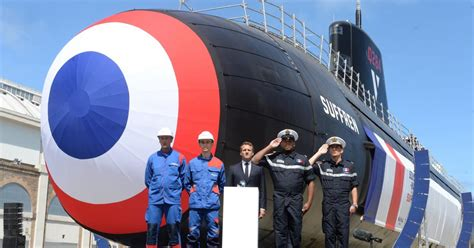 en presence du president de la republique francaise naval