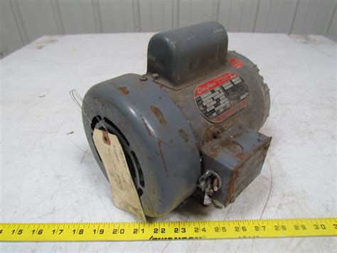dayton 5k122 l 1 2hp capacitor ac electric motor 1ph 115 208 230v f56 frame ebay