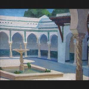 Mathilde ARBEY Le Patio De La Villa Abd El Tif Alger