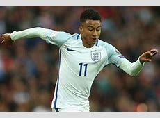 Jesse Lingard Manchester United star's England debut in