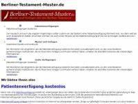 Berliner Testament Beispiel : vordrucke testament ~ Orissabook.com Haus und Dekorationen
