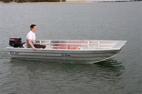 Punt Boat by Sea Aluminium Boats Punt Sea Boats
