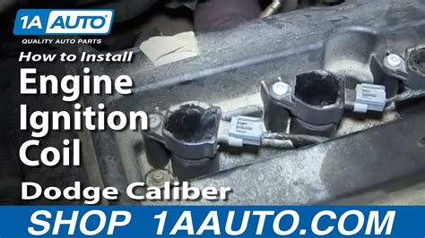 replace ignition coils   dodge caliber youtube
