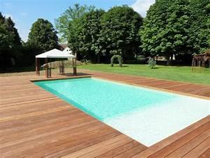 Bois Pour Terrasse Piscine : terrasse bois autour piscine tubulaire ~ Edinachiropracticcenter.com Idées de Décoration