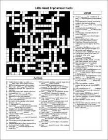 Giant Printable Crossword Puzzles