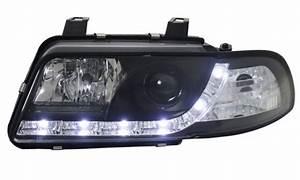 A4 B5 Scheinwerfer : scheinwerfer tagfahrlicht optik audi a4 b5 94 98 schwarz ~ Kayakingforconservation.com Haus und Dekorationen