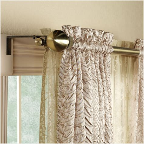 swing arm curtain rod amazon  page home design