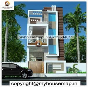 Front, Elevation, Design, Duplex, House, Archives