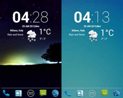 best android widgets 21 best free android weather widgets for home screens