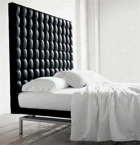 White King Headboard Upholstered by Boss Bed High Headboard