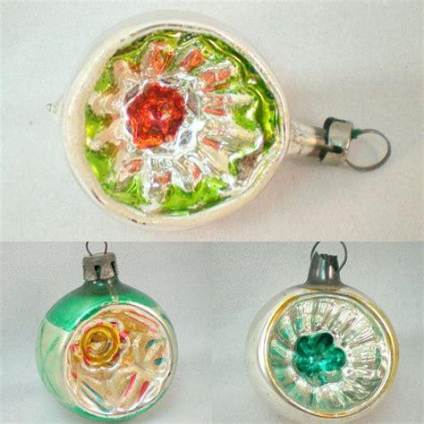 mercury glass   vintage christmas decorations