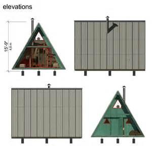 a frame house plans a frame tiny house plans