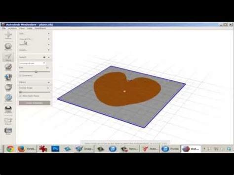 autodesk  meshmixer tutorial custom stamp drafting