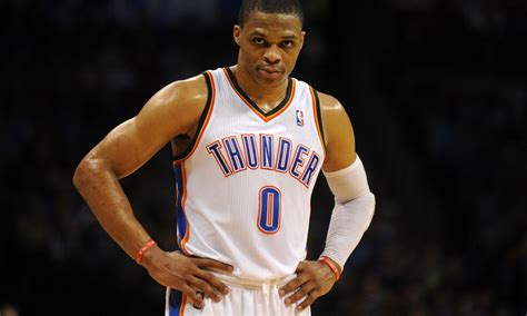 Russell Westbrook nearly injured himself on a pointless ...
