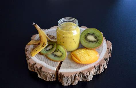 recette de petit pot compote kiwi mangue banane pour b 233 b 233