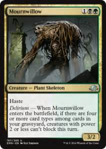 mournwillow from eldritch moon spoiler