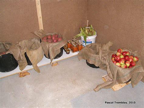 rangement chambre froide chambre froide au sous sol plan rangement pour les conserves