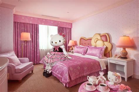 pink bedroom ideas habitaciones hello kitty 15413