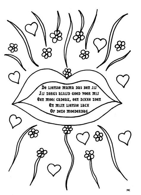 Kleurplaat Hart by Kleurplaat Hart Valentijn Moederdag Vaderdag