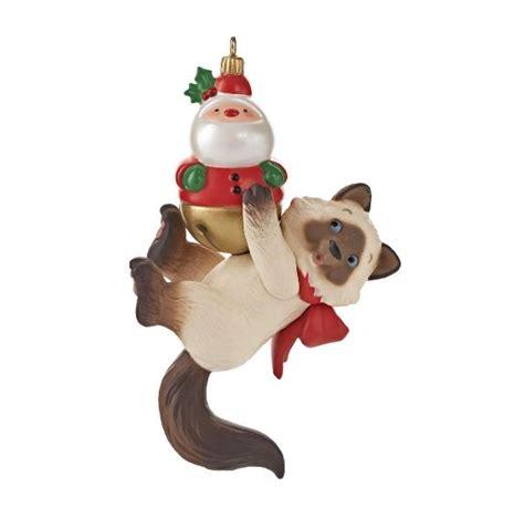 hallmark cat ornaments 2013 mischievous kittens hallmark ornament ornaments at hooked on hallmark ornaments