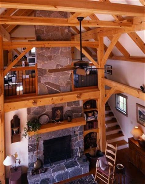 fabled country timber frame barn home