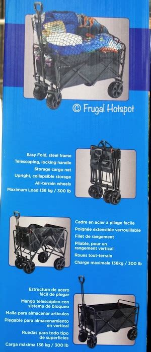 costco sale mac sports folding wagon  frugal hotspot