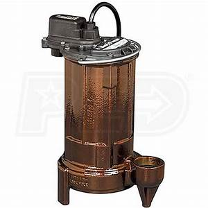 Liberty Pumps 290  4 Hp Cast Iron Sump  Effluent Pump