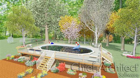 creating  deck    ground pool  spa