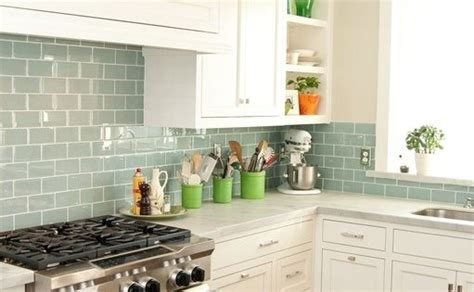 surf glass subway tile subway tiles sea glass  tiling