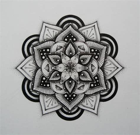 lotus mandala mandaly mandalas malen mandala tattoo