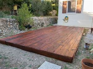 A pallet deck upcycled pallets pinterest decks and for Pallet patio floor
