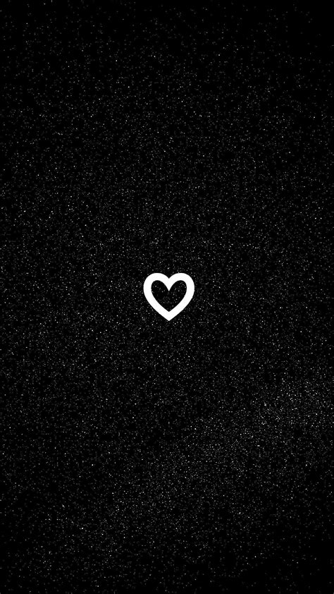If you have one of your own you'd like to share, send it to us and we'll be happy to include it on our website. Black Heart Aesthetic Wallpapers - Top Free Black Heart Aesthetic Backgrounds - WallpaperAccess