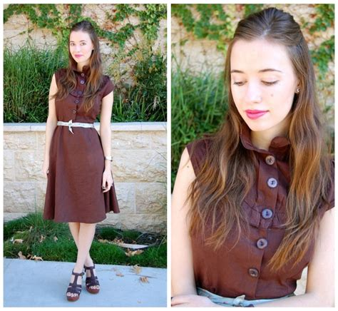 shabby apple dress ebay mara f shabby apple brown dress homemade tie belt michael kors brown heels a shabby apple