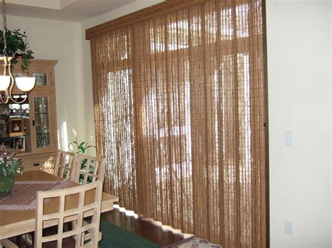 Bamboo Vertical Blinds Patio Doors by Bamboo Vertical Blinds For Sliding Glass Doors For Sliding