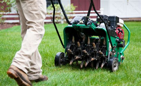 lawn aeration considering aeration it s really hard work southern nh lawn care servicessouthern nh lawn