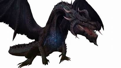 Fatalis Hunter Monster Render Flame Dragones Frontier