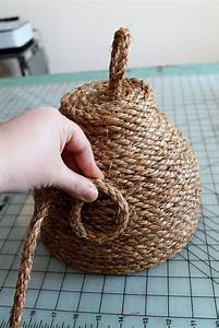 DIY: Make this Super Cute Beehive for Your Front Porch for